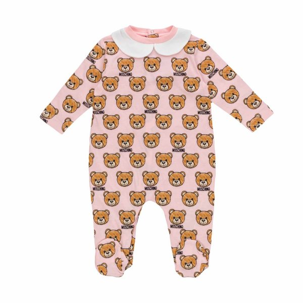 Moschino - TEDDY BEAR ROMPER FOR BABY GIRLS