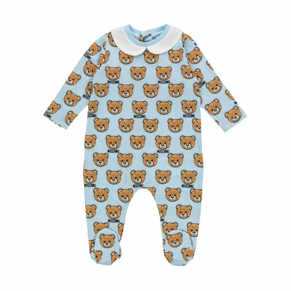 Moschino - BABY BOYS TEDDY BEAR ROMPER