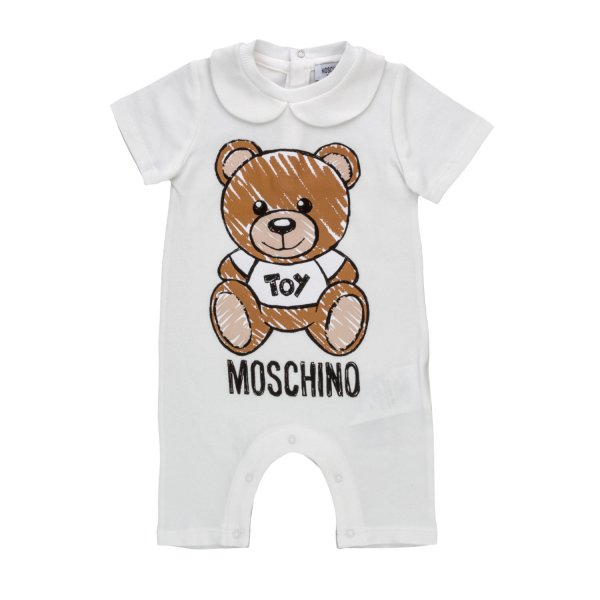Moschino - BABY TEDDY BEAR ROMPERS
