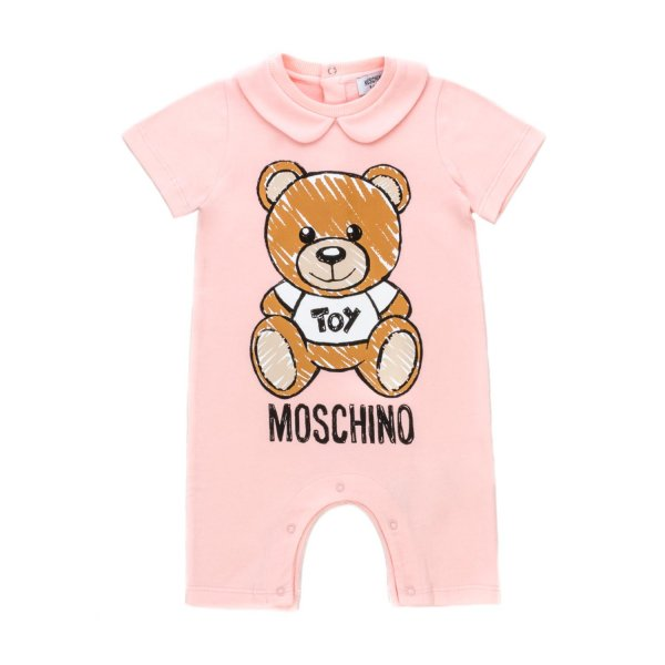 Moschino - TEDDY BEAR ROMPERS FOR BABY GIRL