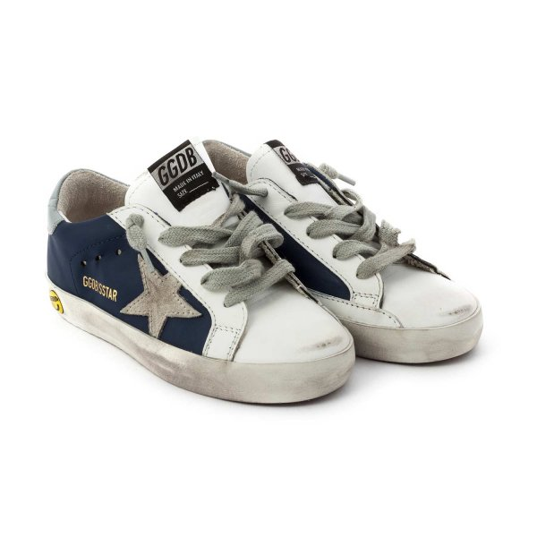 Golden Goose - LITTLE BOY SUPERSTAR SNEAKERS