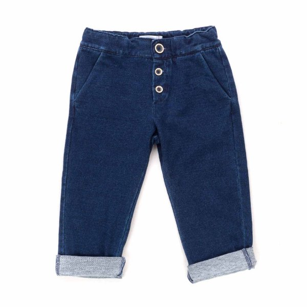 Officina51 - BLUE TROUSERS FOR BABY BOY