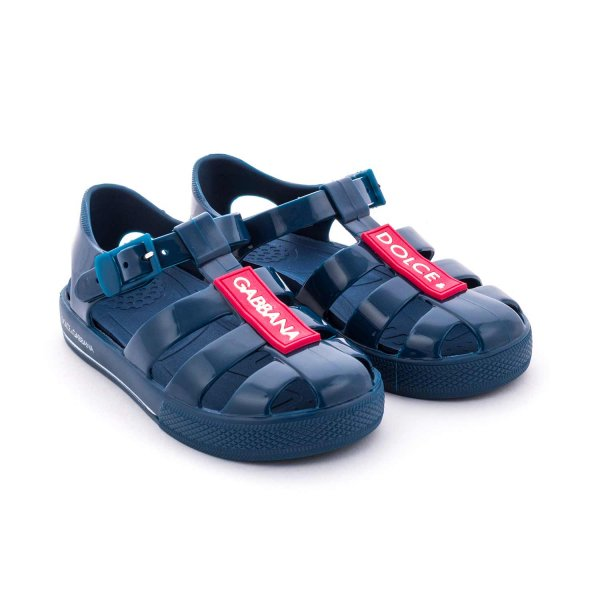 Dolce & Gabbana - BABY BOY RUBBER SANDALS