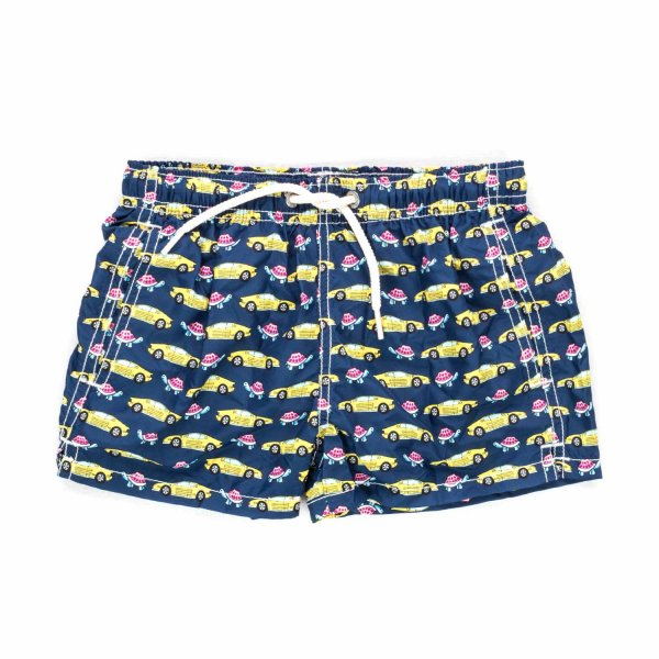 Mc2 Saint Barth - BOYS SWIM TRUNKS