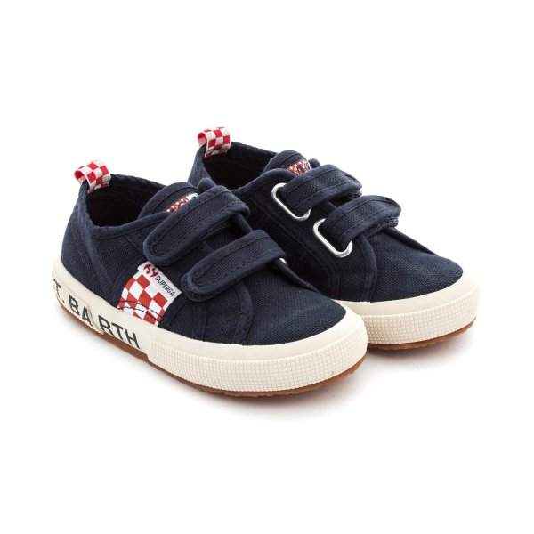 Mc2 Saint Barth - UNISEX BLUE SUPERGA SNEAKERS