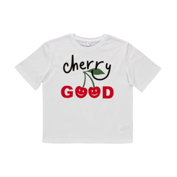 Stella Mccartney - CHERRY T-SHIRT FOR GIRLS