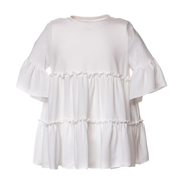 Dondup - WHITE BLOUSE FOR GIRLS