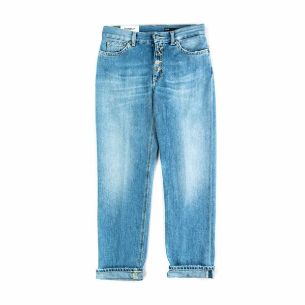 Dondup - FADED DENIM JEANS FOR GIRLS
