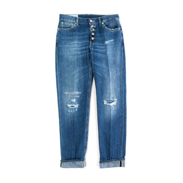 Dondup - DISTRESSED JEANS FOR GIRL