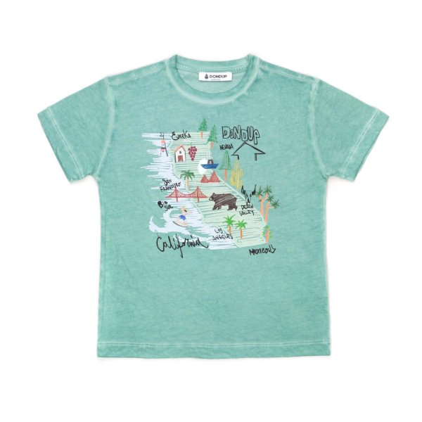 Dondup - UNISEX COTTON PRINT T-SHIRT
