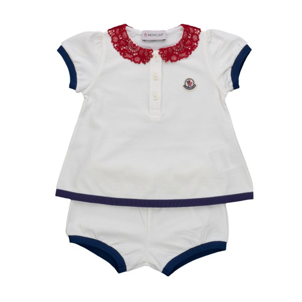 Moncler - TWO-PIECE SET FOR BABY GIRLS
