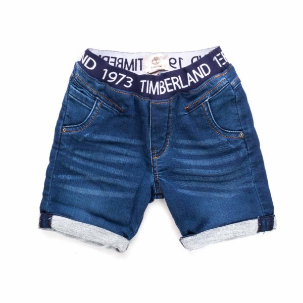 Timberland - DENIM SHORTS FOR BABY BOYS