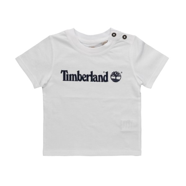 Timberland - WHITE T-SHIRT FOR BABY BOY