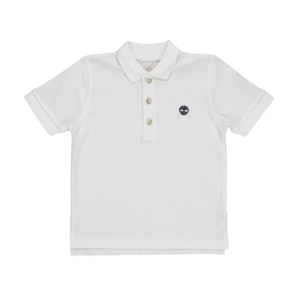 Timberland - BABY BOYS WHITE POLO SHIRT
