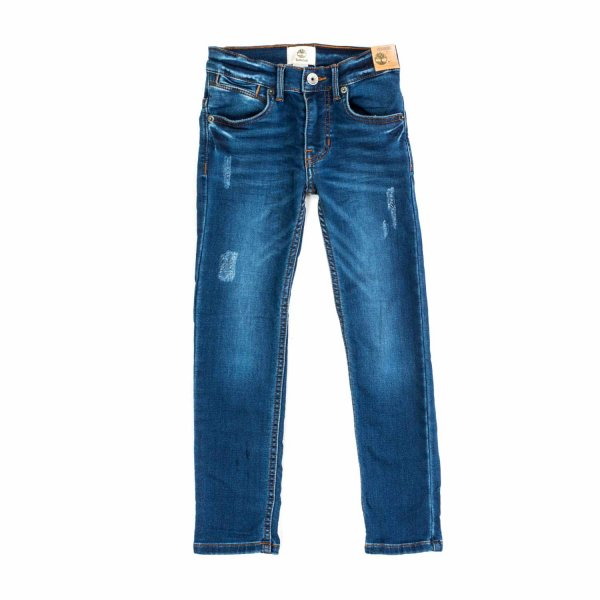 Timberland - LITTLE BOY BLUE DENIM JEANS
