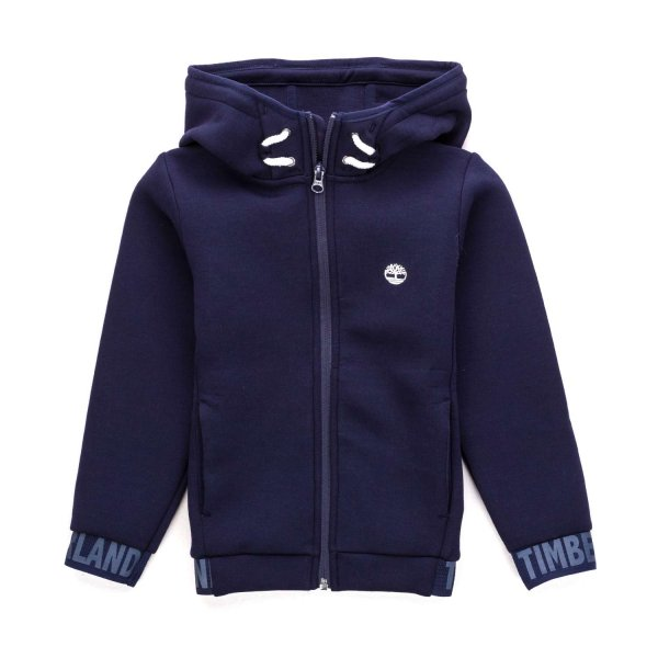 Timberland - BOY BLUE ZIP UP HOODIE