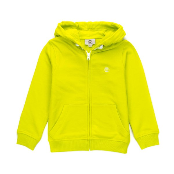 Timberland - LIME GREEN HOODIE FOR BOYS