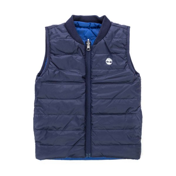 Timberland - BLUE DOWN VEST FOR BOY