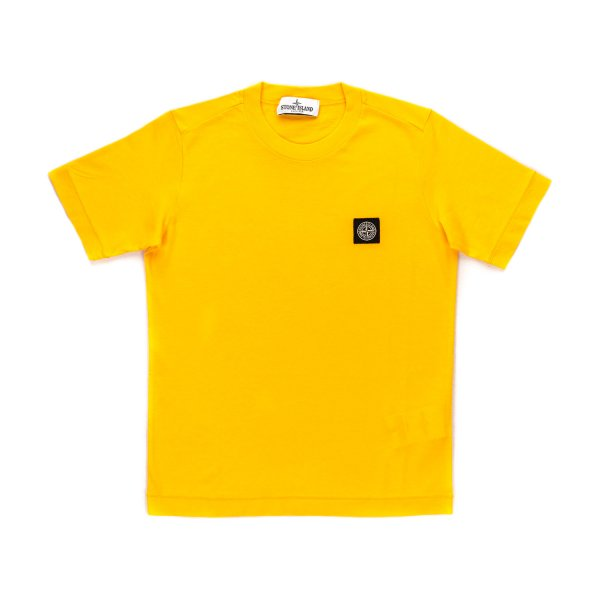 Stone Island - YELLOW T-SHIRT FOR BOY