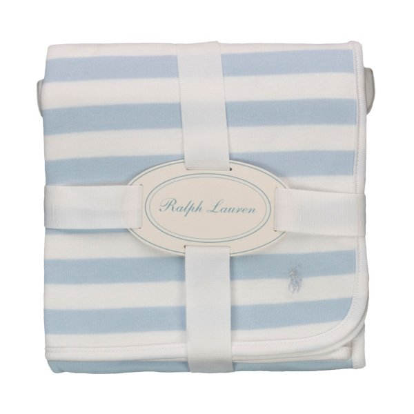 Ralph Lauren - STRIPED BLANKET FOR BABY BOYS