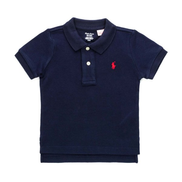 Ralph Lauren - BABY BOYS BLUE POLO SHIRT