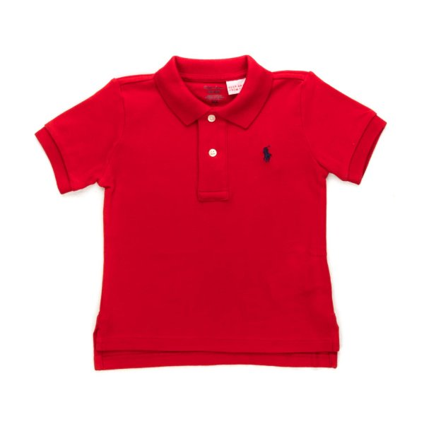Ralph Lauren - BABY BOYS RED POLO SHIRT
