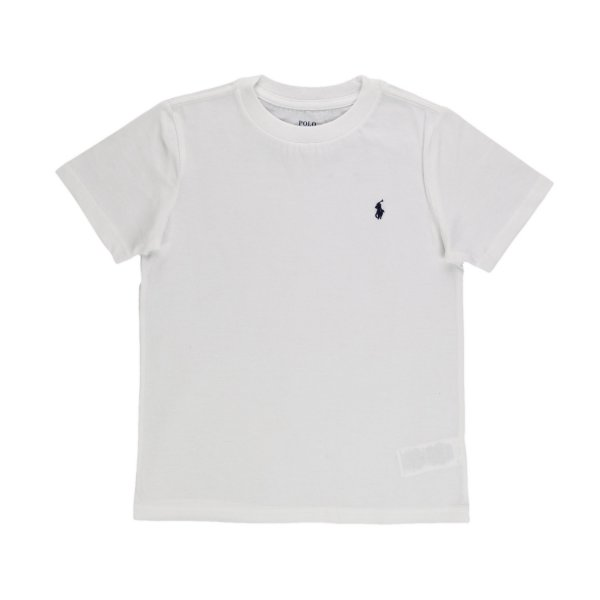 Ralph Lauren - WHITE RL T-SHIRT FOR BOYS