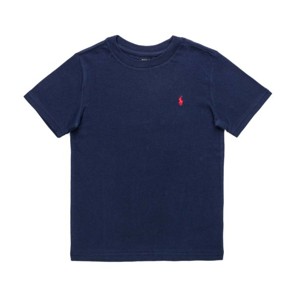 Ralph Lauren - BLUE COTTON T-SHIRT FOR BOYS