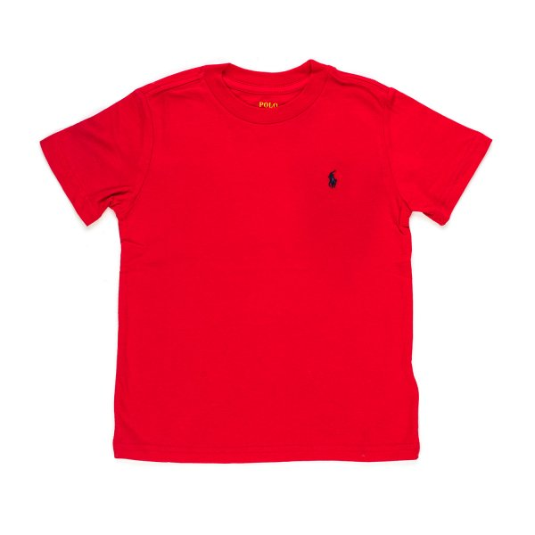 Ralph Lauren - BOY RED COTTON T-SHIRT