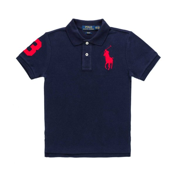 Ralph Lauren - BLUE POLO SHIRT FOR BOYS
