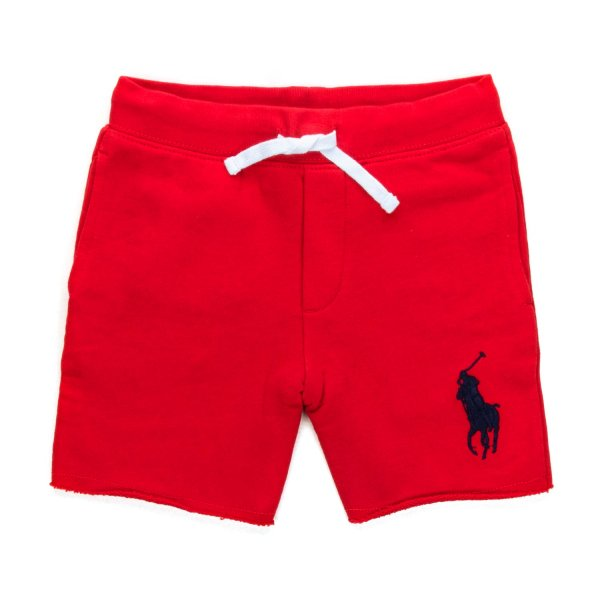 Ralph Lauren - RED COTTON SHORTS FOR BOYS