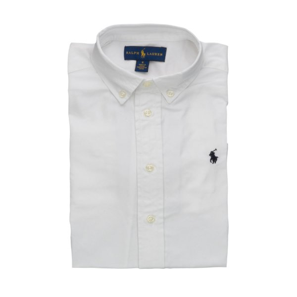 Ralph Lauren - BOY WHITE OXFORD SHIRT
