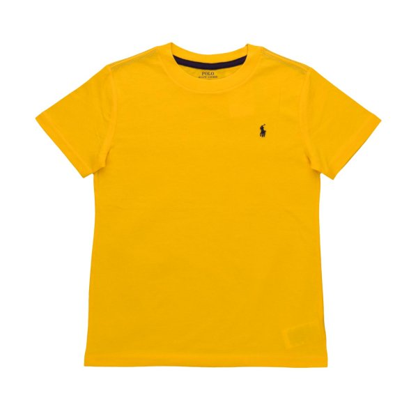 Ralph Lauren - YELLOW T-SHIRT FOR BOYS
