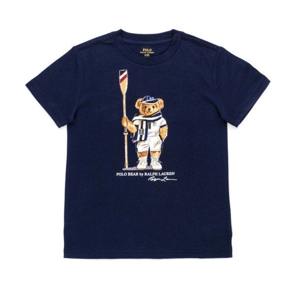 Ralph Lauren - POLO BEAR BLUE T-SHIRT FOR BOY