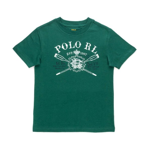 Ralph Lauren - POLO RL T-SHIRT FOR BOYS