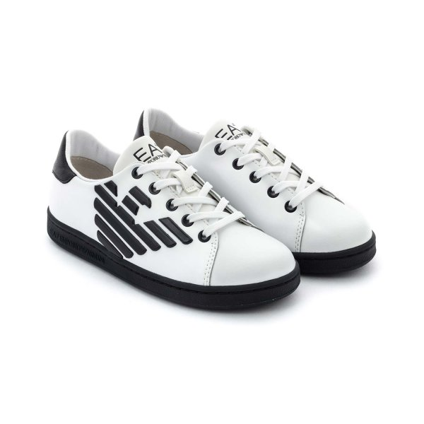 Armani Junior - SNEAKERS WITH LOGO FOR BOYS