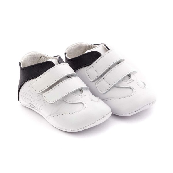 Armani Junior - BABY BOY WHITE SNEAKERS