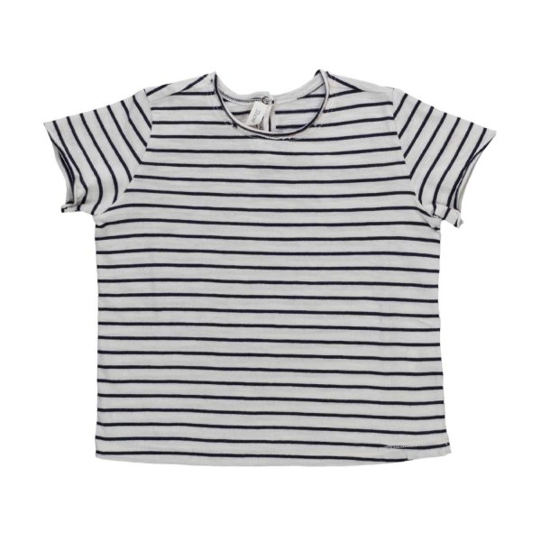 Zhoe & Tobiah - BABY BOY STRIPED T-SHIRT