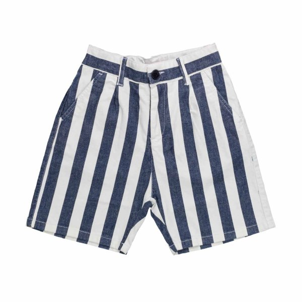 Paolo Pecora - STRIPED SHORTS FOR BOYS