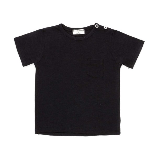 One More In The Family - BABY BOY BLACK T-SHIRT