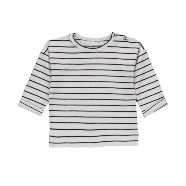 One More In The Family - BABY BOY STRIPED JUMPER