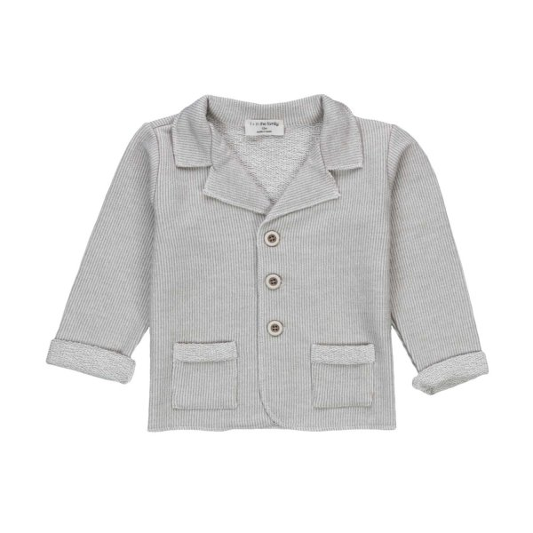 One More In The Family - BABY BOY COTTON JACKET