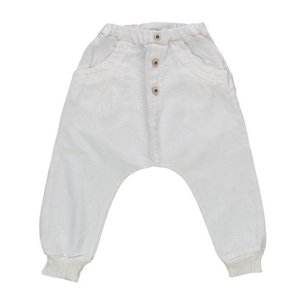One More In The Family - BOY WHITE TROUSERS
