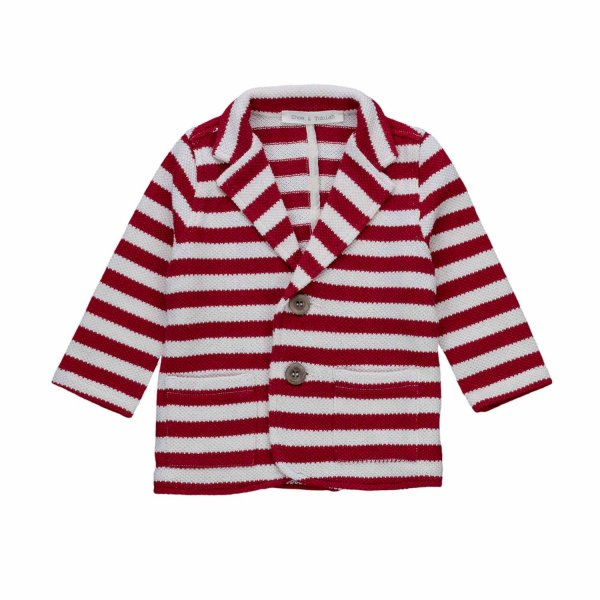 Zhoe & Tobiah - STRIPED BLAZER FOR BOYS