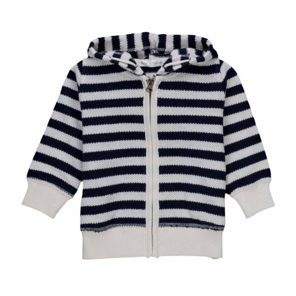 Zhoe & Tobiah - STRIPED CARDIGAN FOR LITTLE BOYS