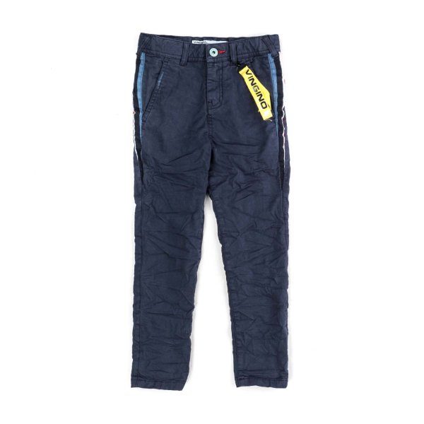 Vingino - BLUE COTTON TROUSERS FOR BOYS