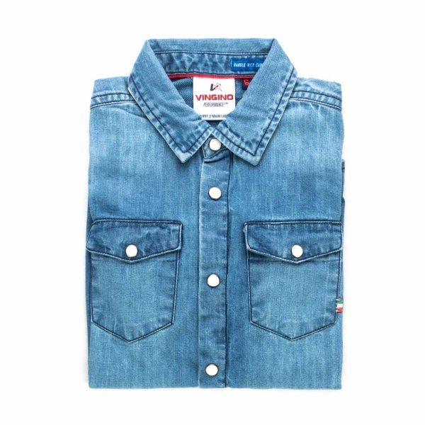 Vingino - DENIM SHIRT FOR BOYS