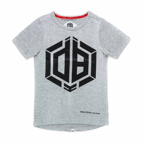Vingino - GREY COTTON T-SHIRT FOR BOYS