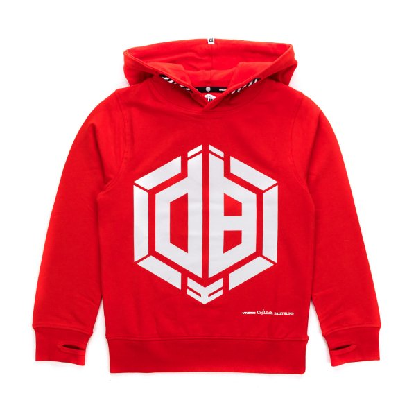 Vingino - RED COTTON HOODIE FOR BOYS