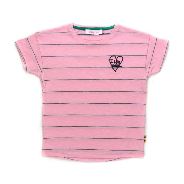 Vingino - PINK T-SHIRT FOR GIRLS